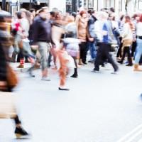 im Shoppingstress
