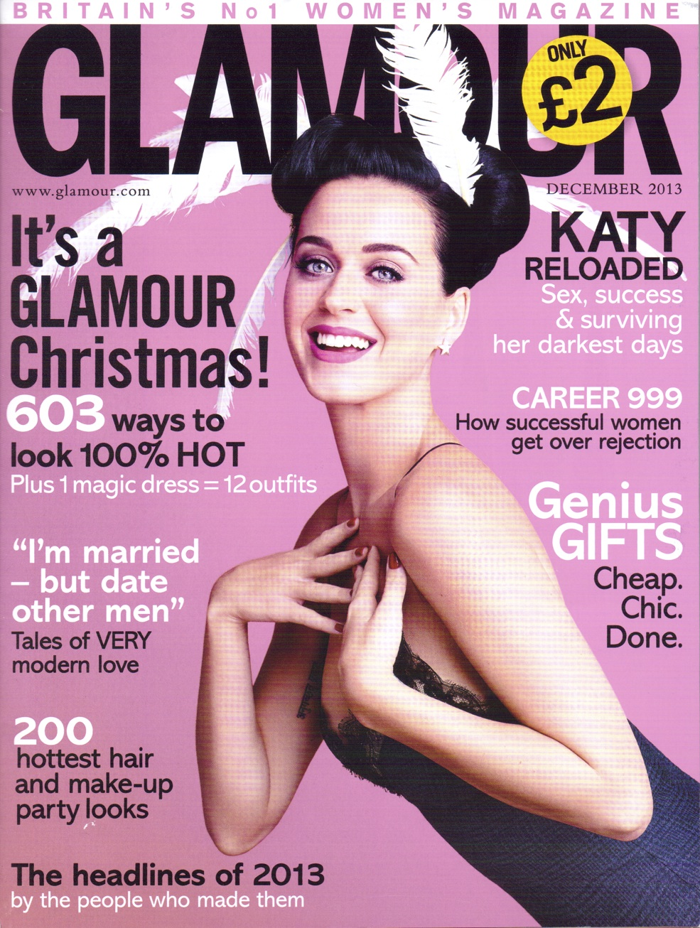 Glamour UK 2013 Cover