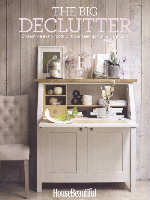 HB Feb 2014 Supplement Cover The Big Declutter