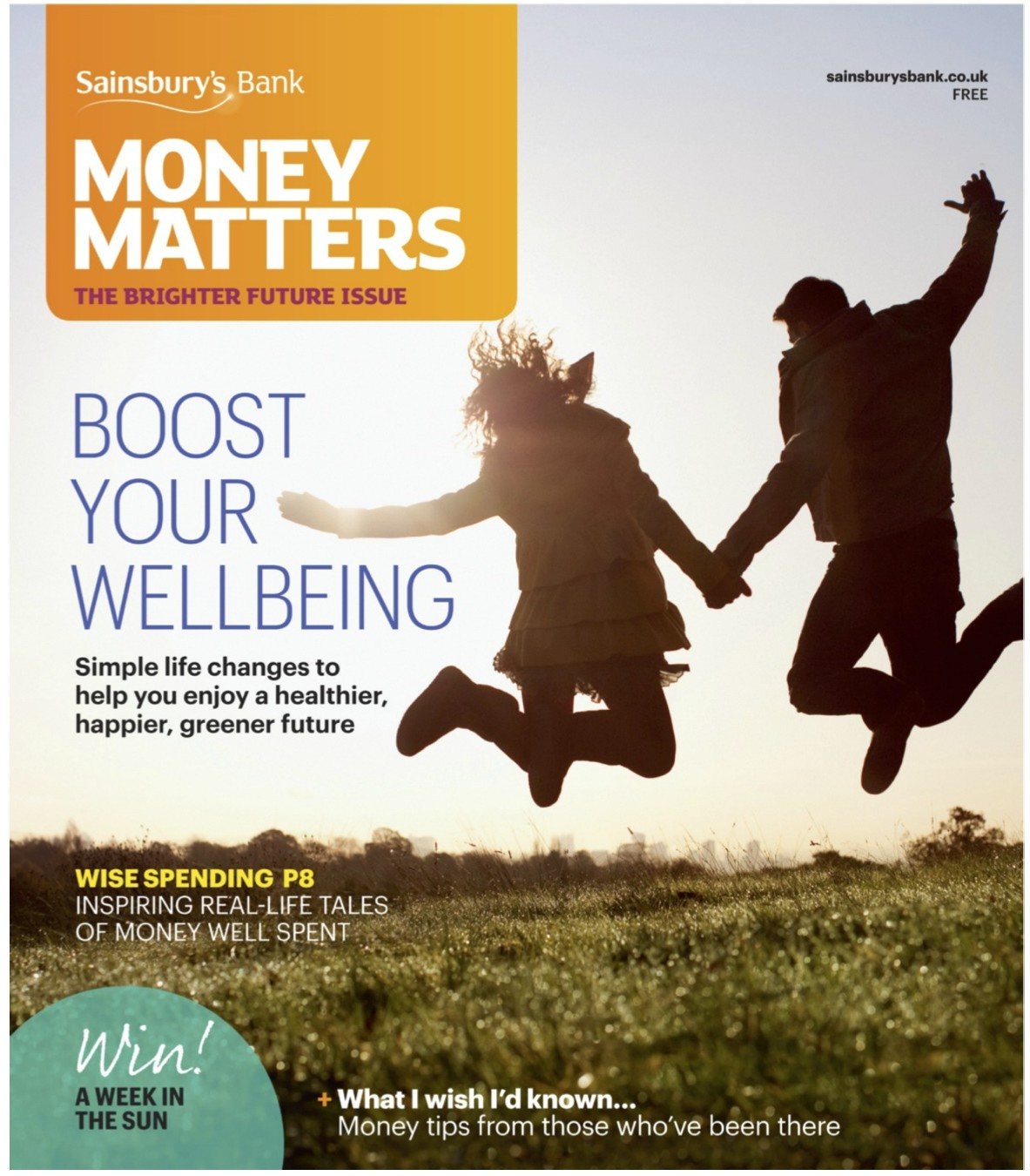 Sainsburys Money Matters Magazine Time Management Feb 2014 Cover
