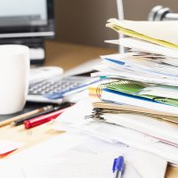 Are you overwhelmed by paperwork?